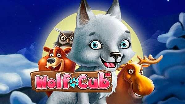 50 bonus spins på Wolf-Cub från PlayFrank