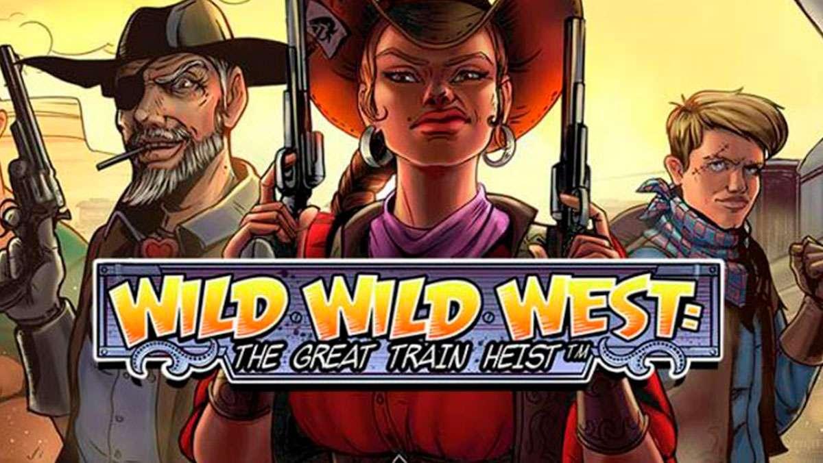 50 bonus spins on Wild Wild West The great train Heist from PlayFrank