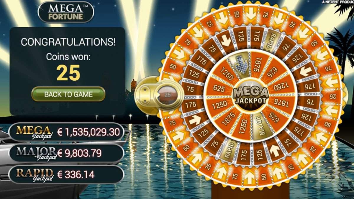 Großen Jackpot auf Mega Fortune im Casumo