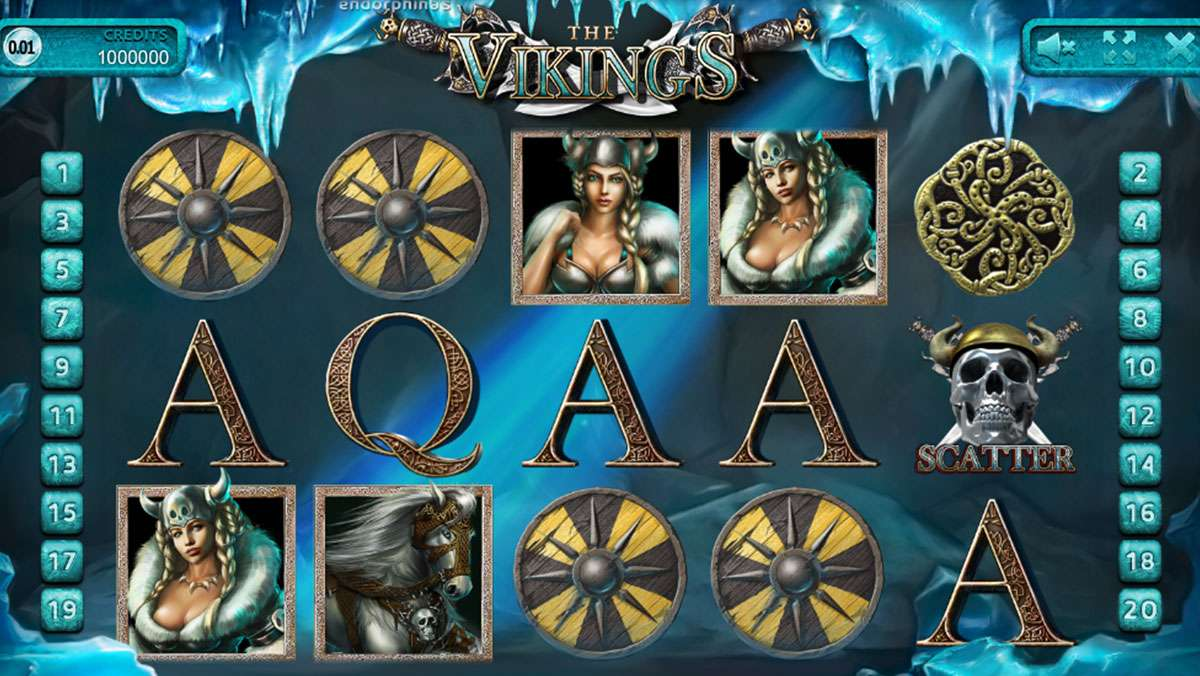 50 bonus spins on Vikings