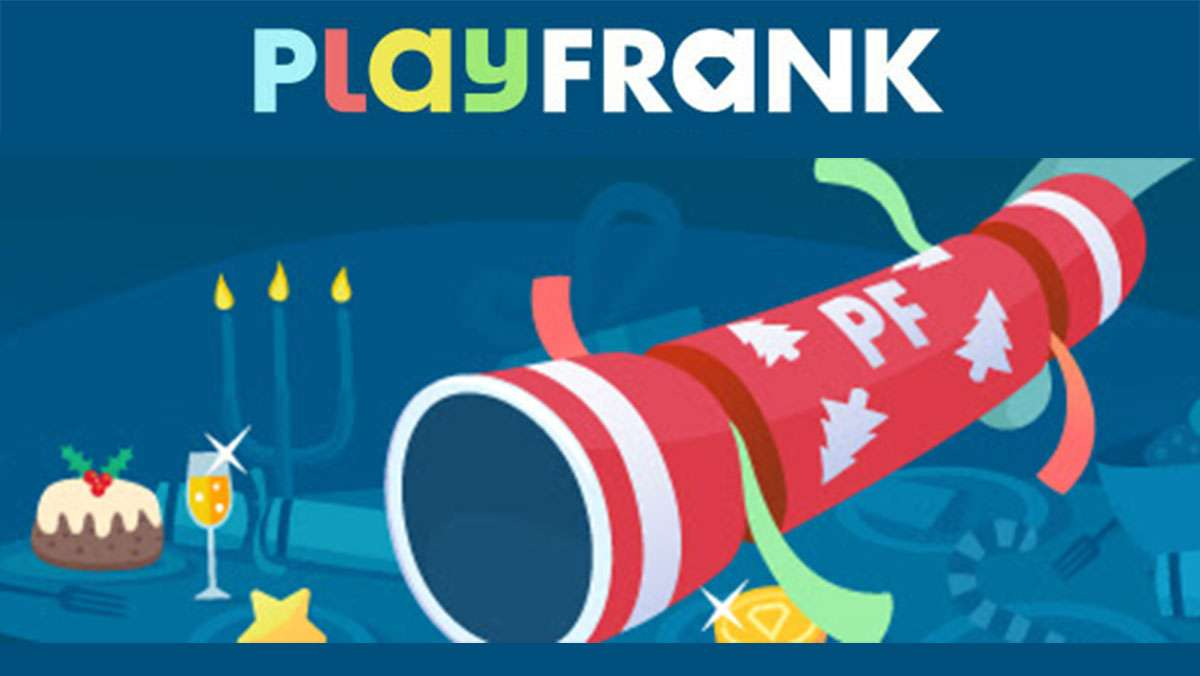 PlayFrank Xmas Kampanje Trekke en Cracker
