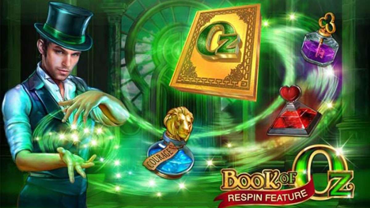 Spela Book of Oz VINNER 100 USD