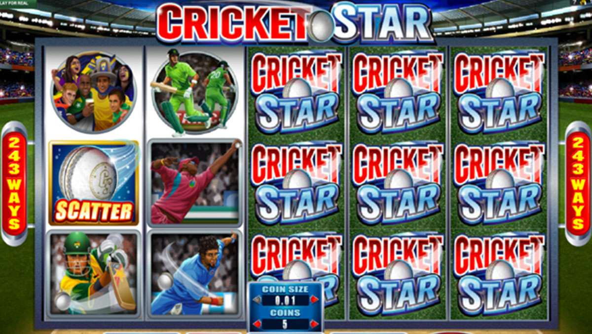 Play Cricket Star Scratch WIN 100 EUR
