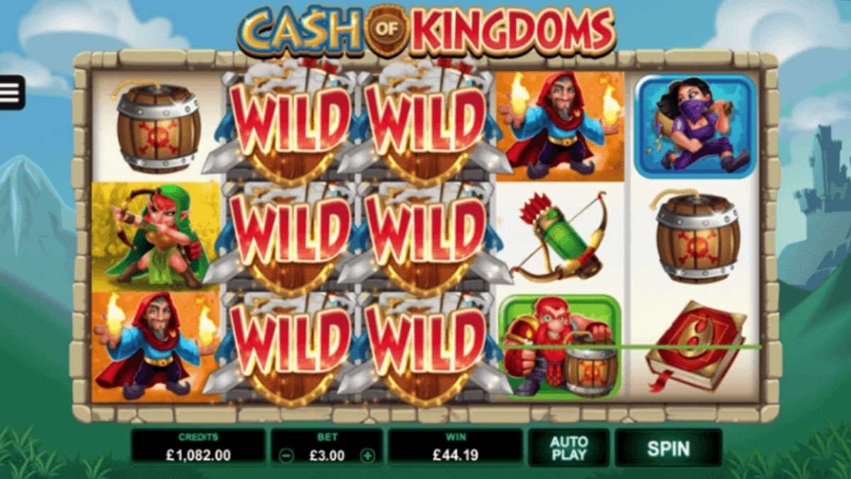 Play Cash of Kingdoms Slot and WIN 100