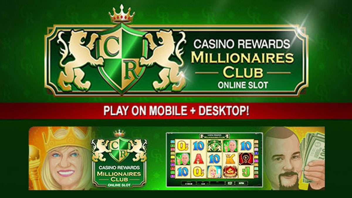 Spela Casino Rewards Millionaires Club VINNA 100