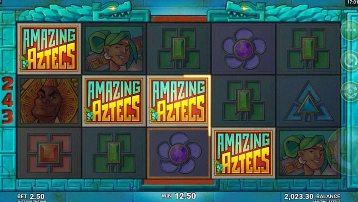 Play Amazing Aztecs WIN 100