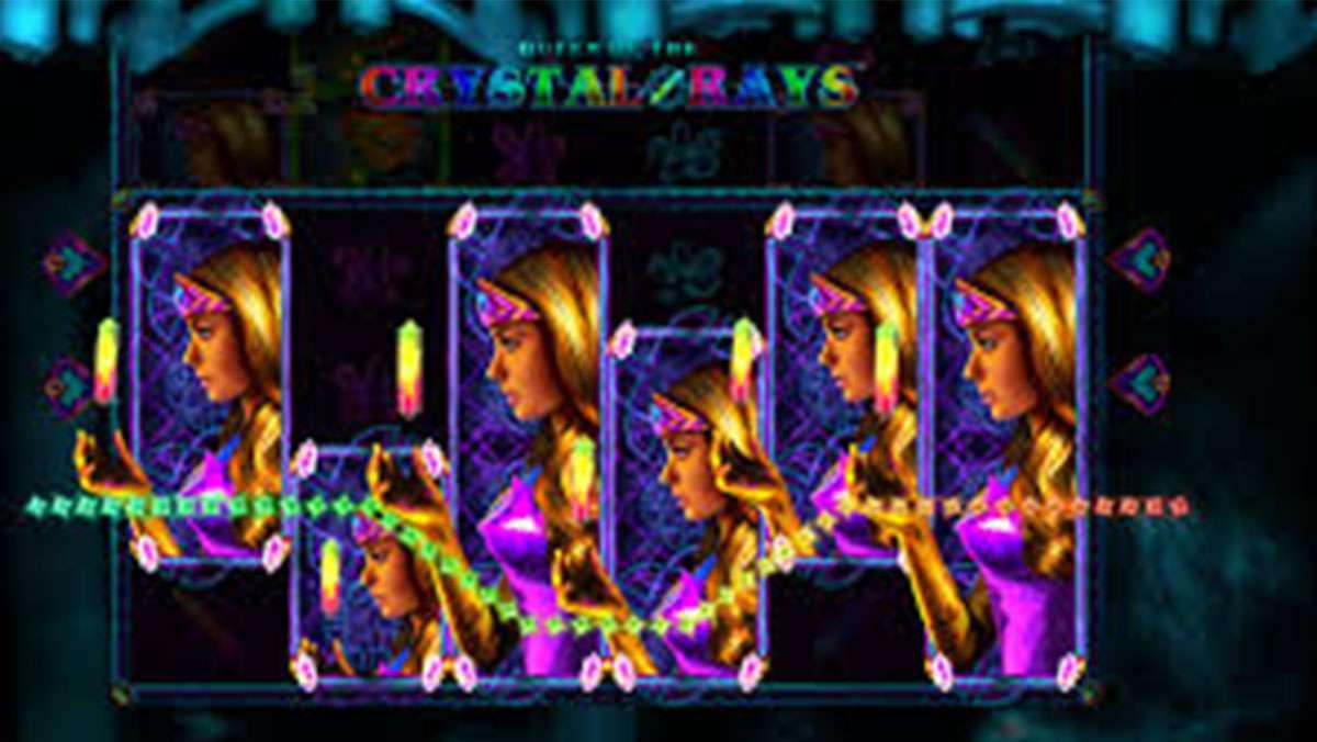 Spela Queen of the Crystal Strålar VINNA 100