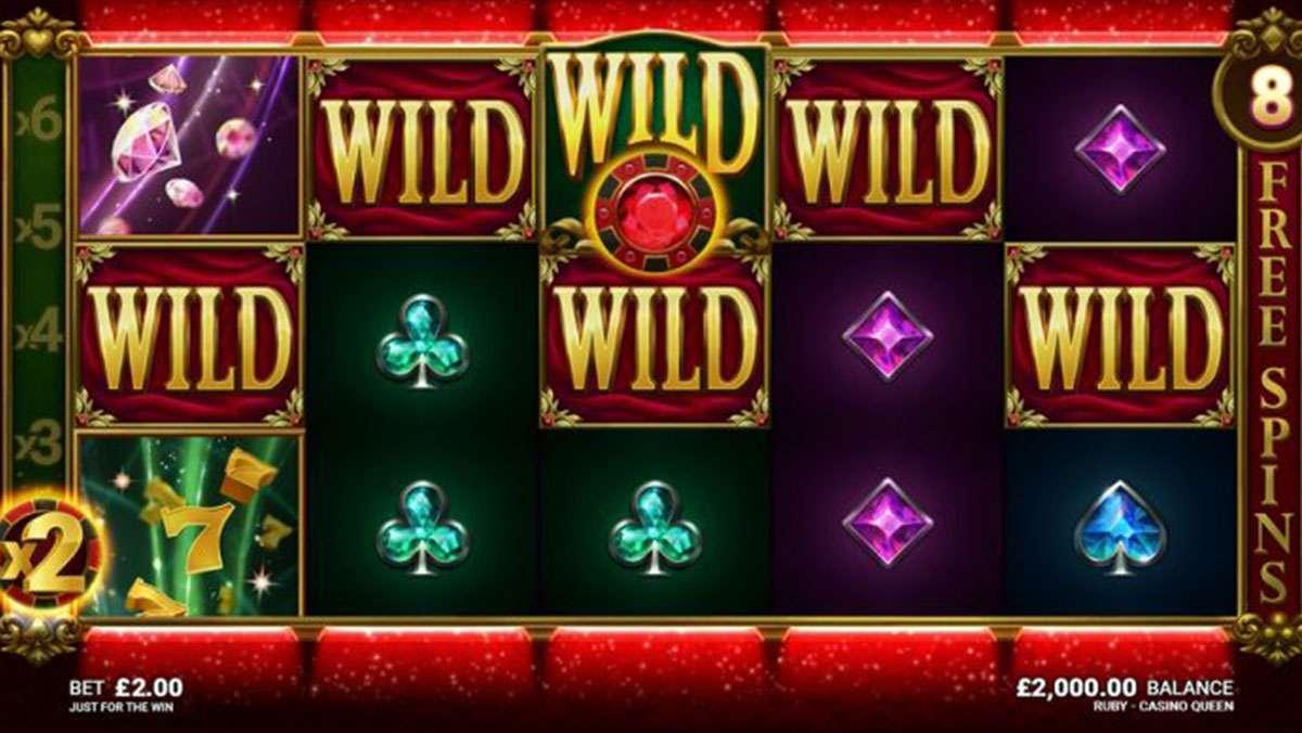 Månedlig promo Doble Poeng på Ruby Casino Queen