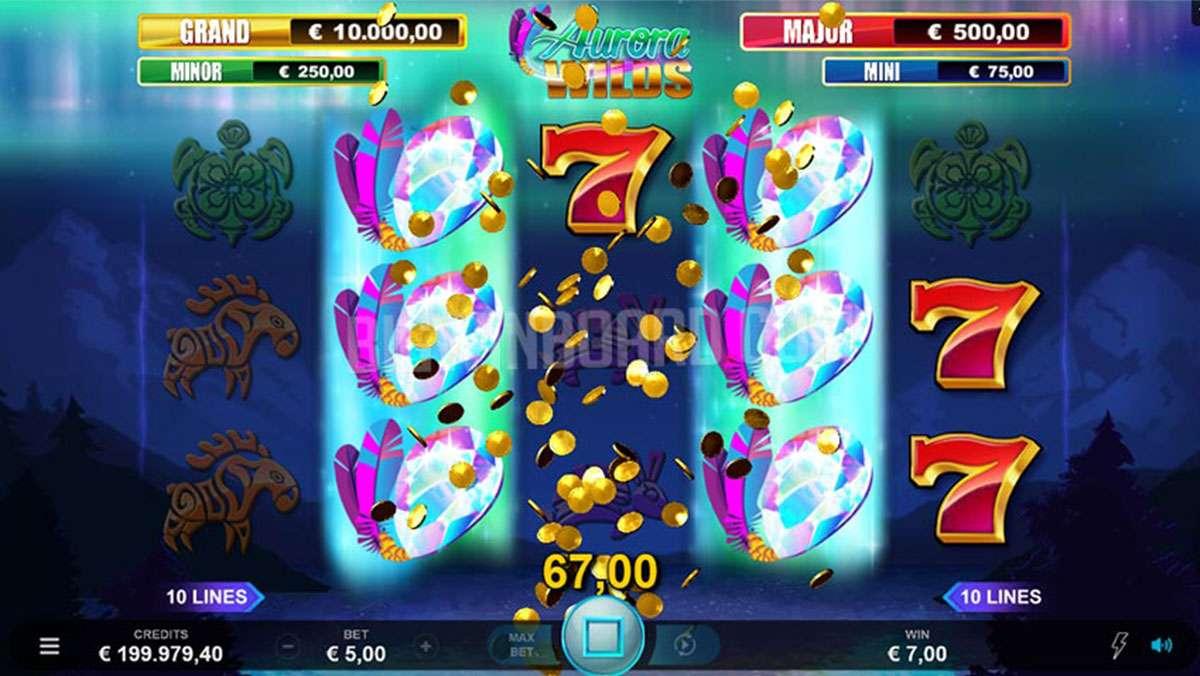 Spela Aurora Wilds i helgen och 10 lyckliga spelare får 100 EURO