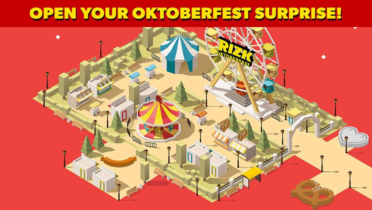 RIZKTOBERFEST 10 days of prizes - view