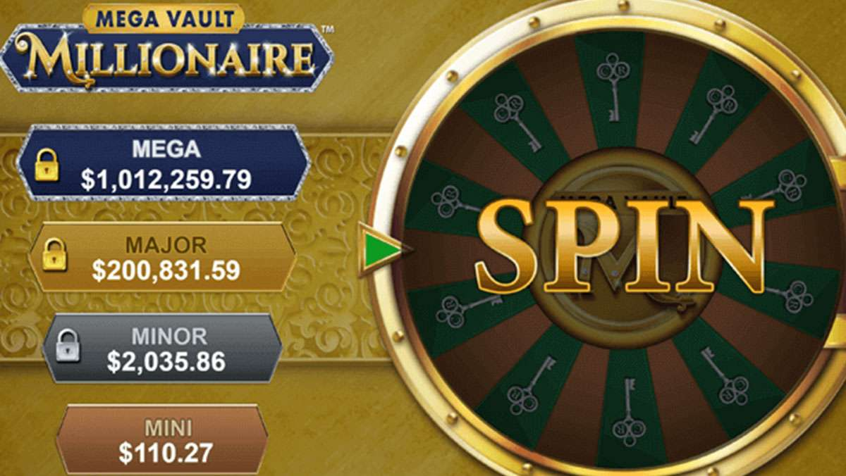 Double Points on Mega Vault Millionaire - view