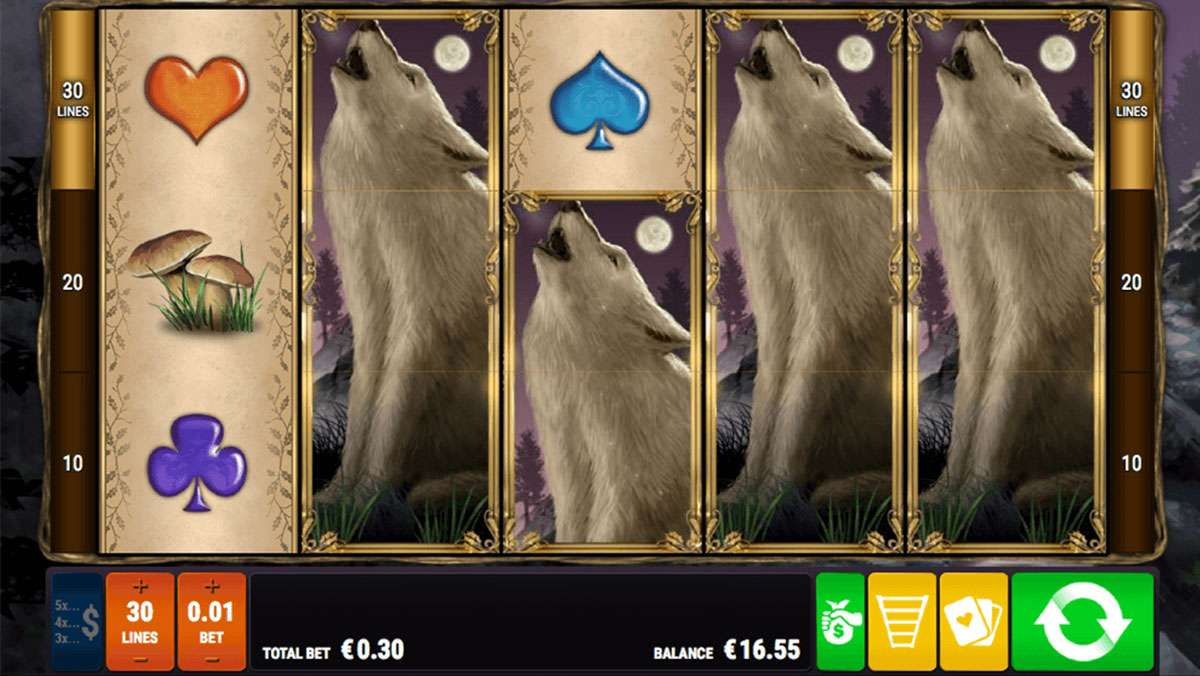 30 Free Spins for Thursday on Night Wolves - view