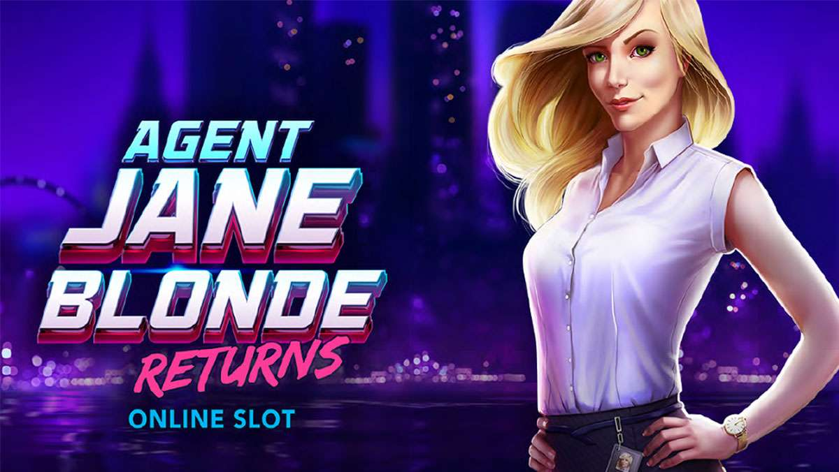 Agent Jane Blonde Returns on Friday with 25 Free Spins - view