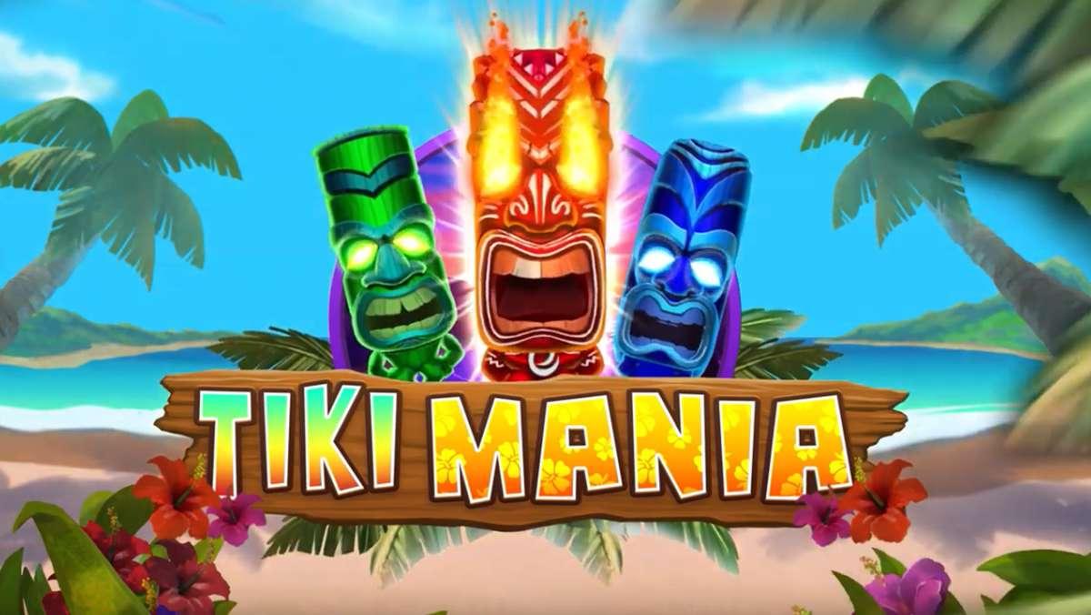 Spela Tiki Slot Mania och VINNA 100