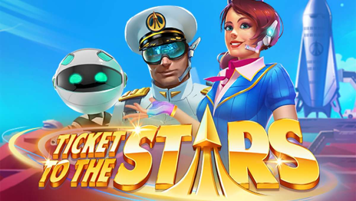50 Free Spins on Ticket to the Stars on Monday - view