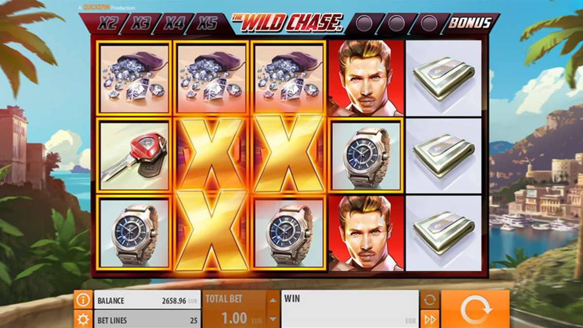 50 SUPER Spins on The Wild Chase for Friday Black Friday Daily Deal - view