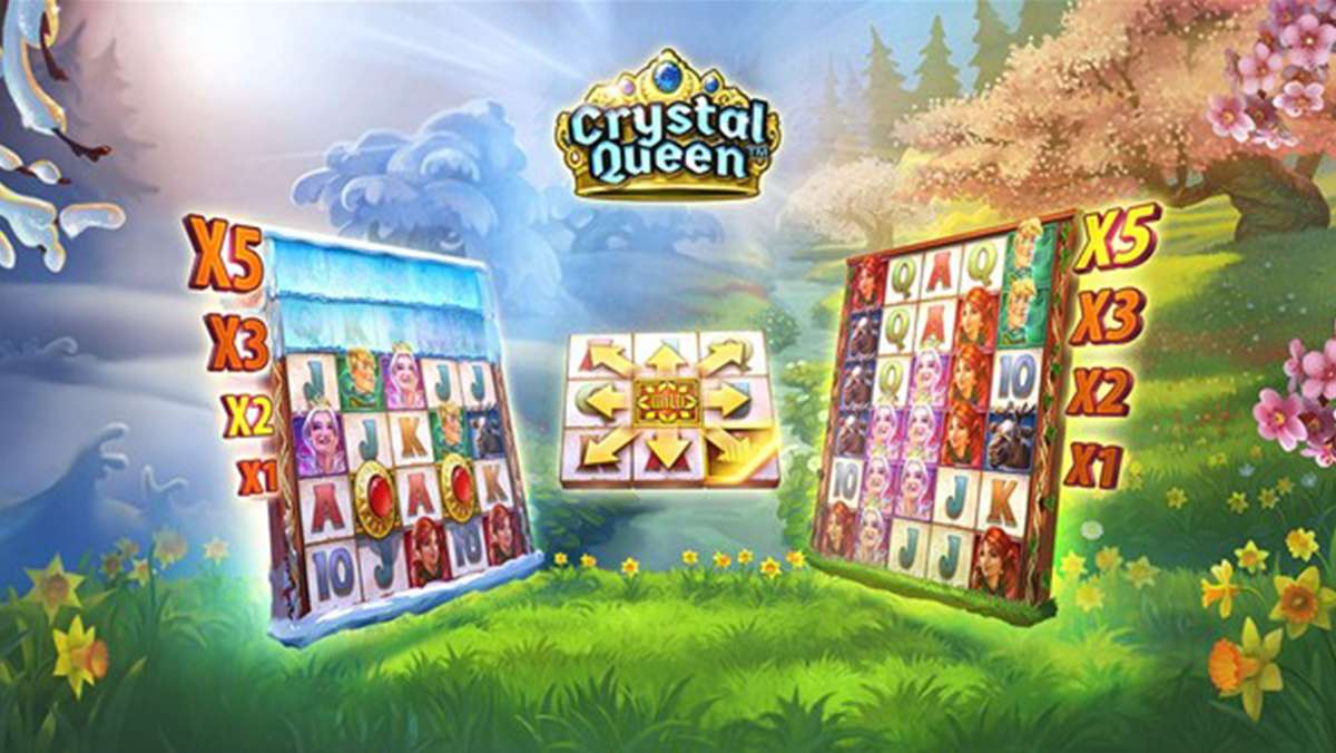Weekend Super Spins on Crystal Queen - view