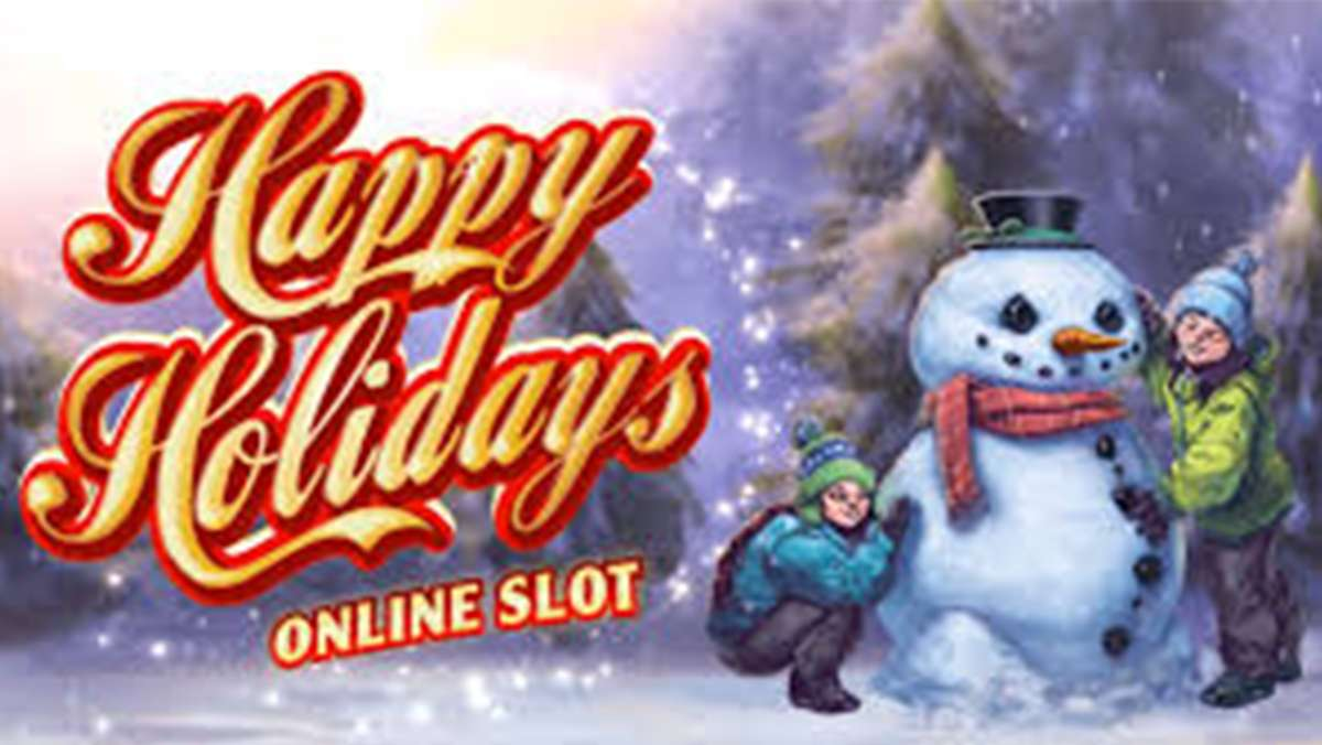 30 Free Spins on Happy Holidays on Tuesday