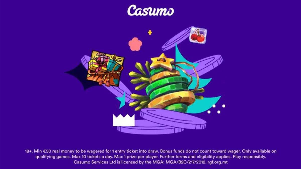Casumo Christmassy Prize Draw