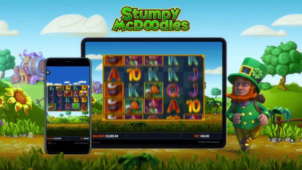 Play Stumpy McDoodles and WIN 100