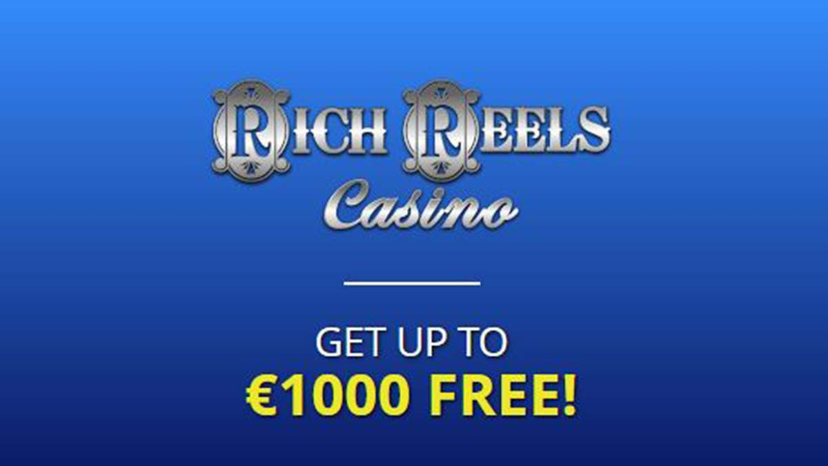Rich Reels Casino Offers New Players up to 1000 EUR in Welcome Bonuses