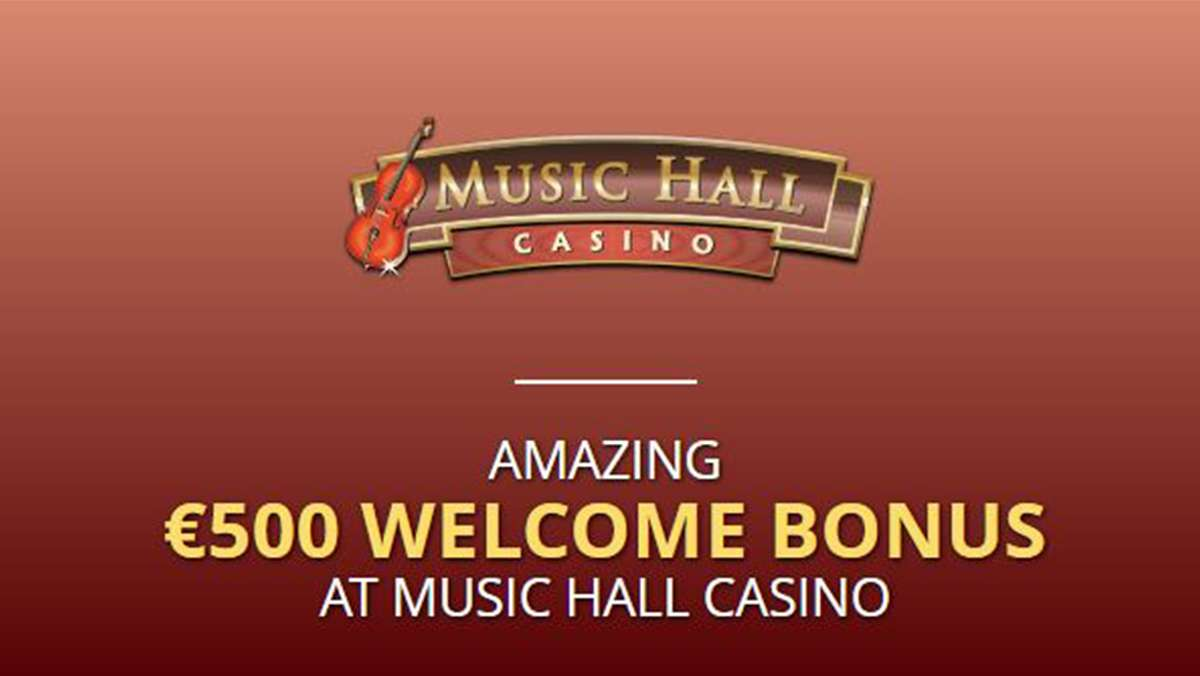 Amazing 500 EUR Welcome Bonus at Music Hall Casino