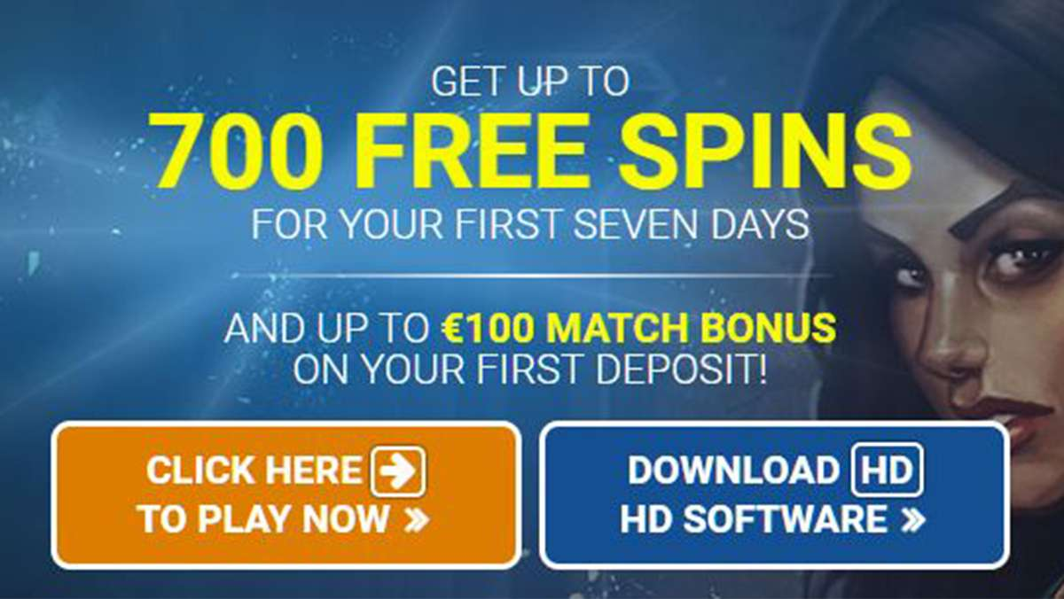 100 Free Spins every day for 7 days after first deposit at Quatro Casino - view
