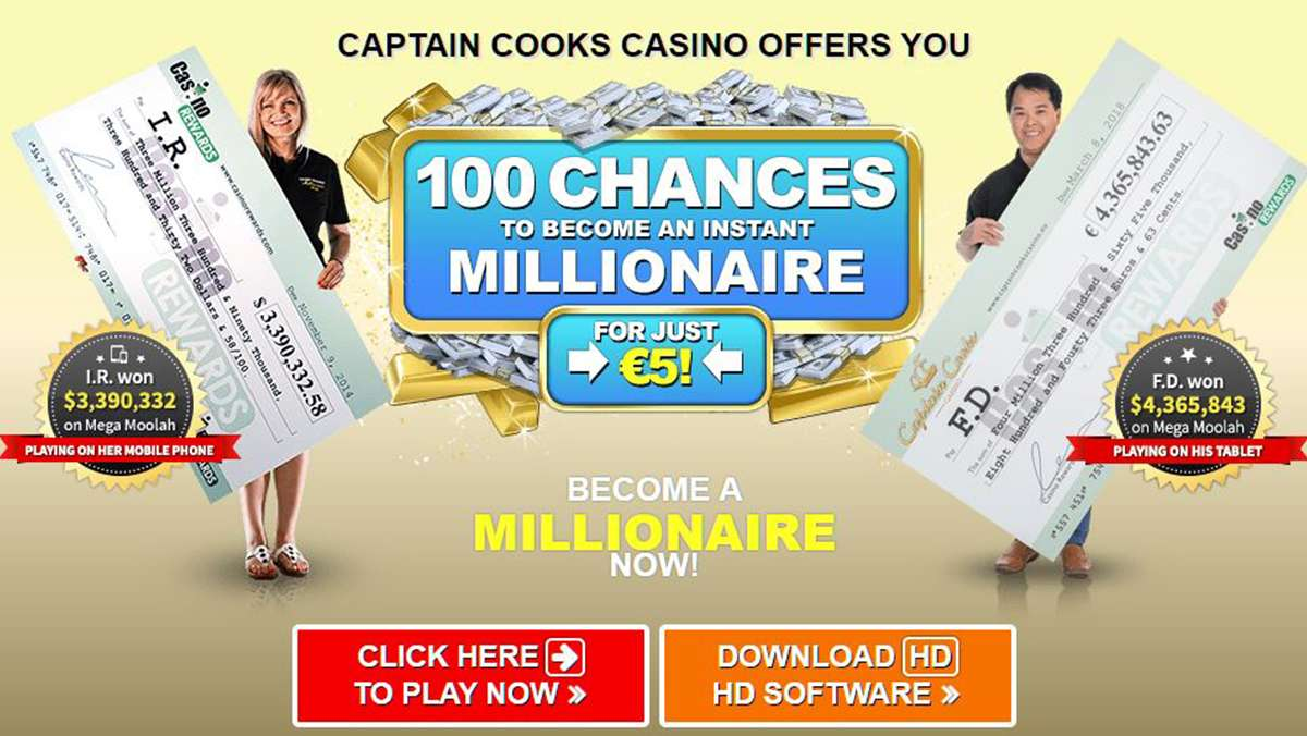 100 CHANCES TO BECOME AN INSTANT MILLIONAIRE - view