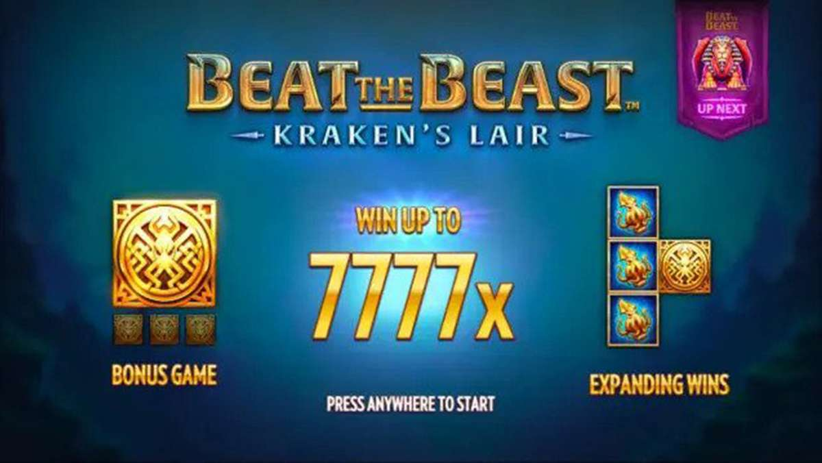 Beat the Beast Krakens Lair exclusively at Casumo Casino