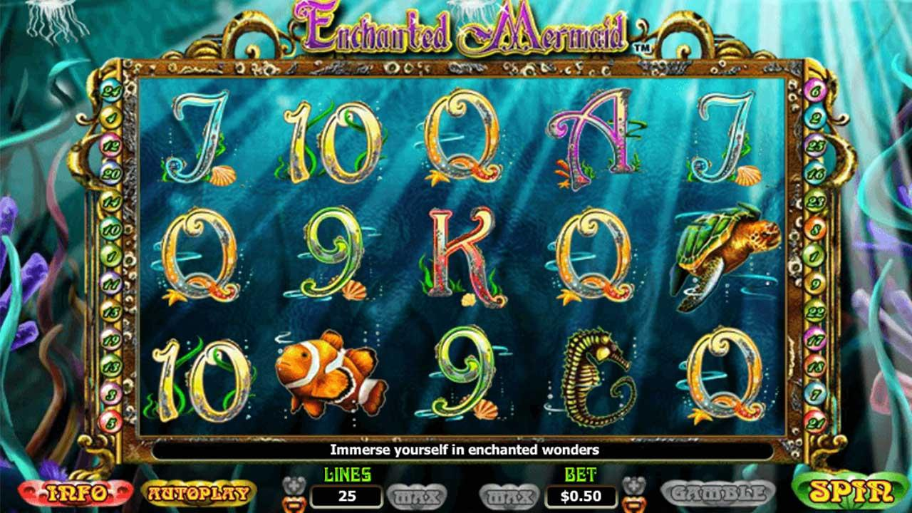 Play Enchanted Oceans™ this weekend and 10 lucky players will be chosen each day to receive £€$100 - view