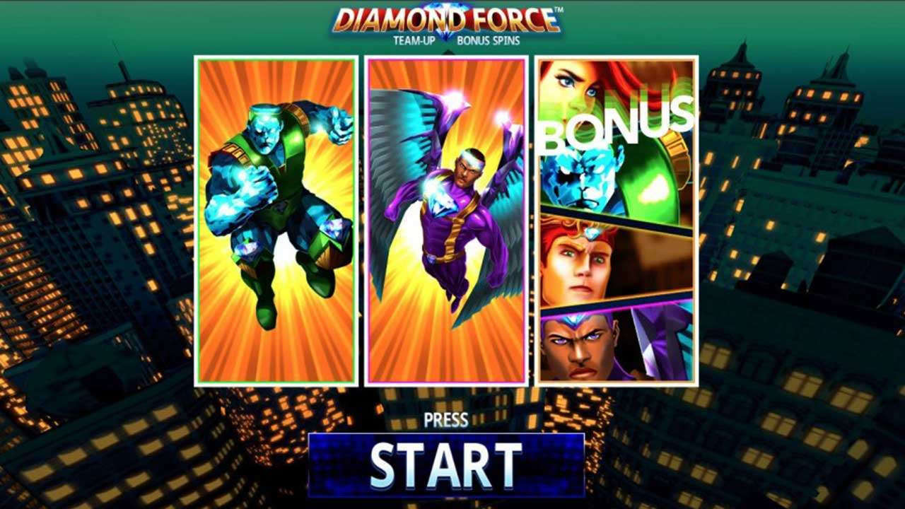 Play Diamond Force™: WIN €100! - view