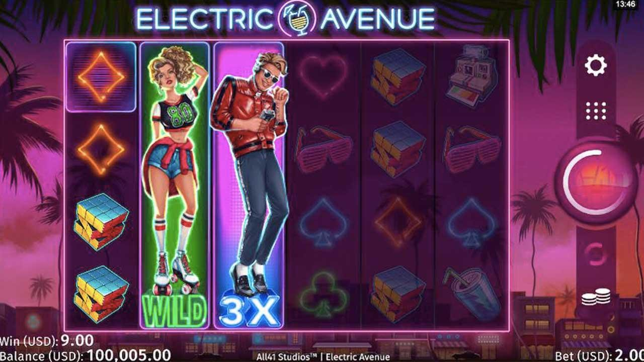 Play Electric Avenue: WIN €100 - view
