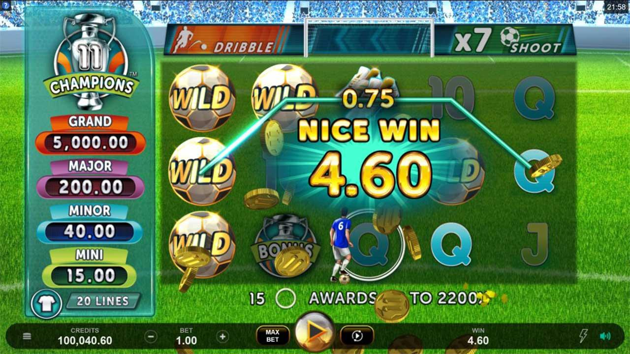 Play 11 Champions: WIN €100 - view