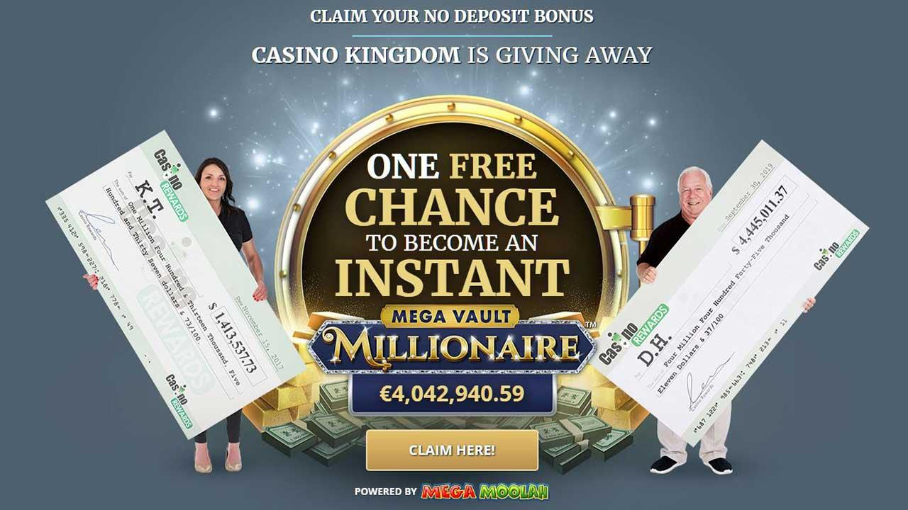 One Free Chance to Become an Instant Millionaire - view