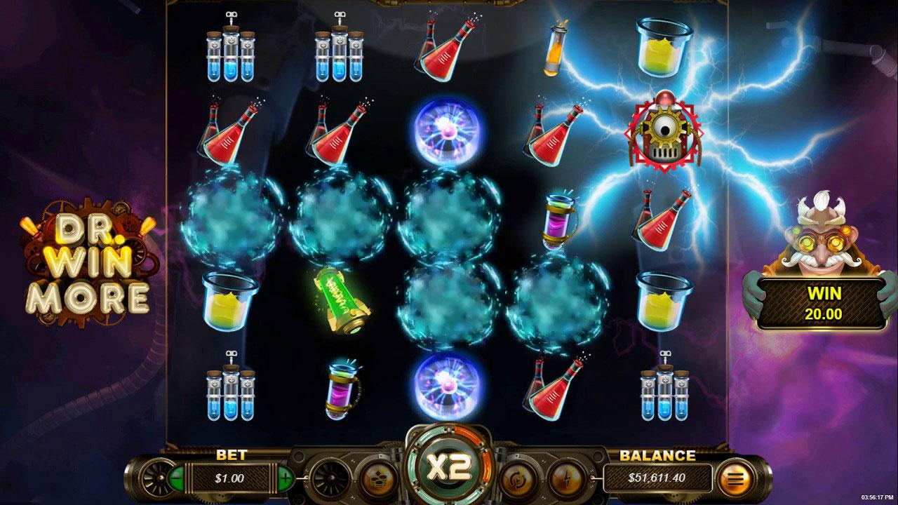 20 Free Spins on Dr. Winmore at Slotocash Casino