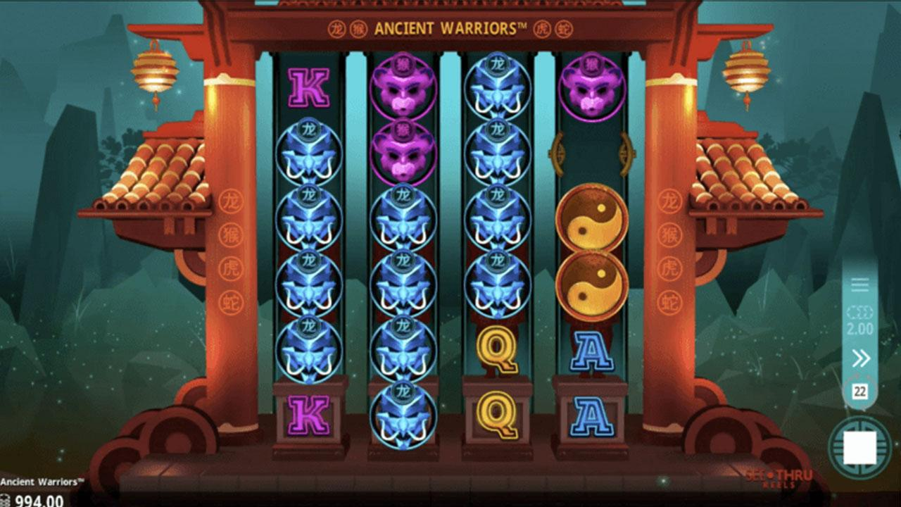Monthly promo: Double Points on Ancient Warriors