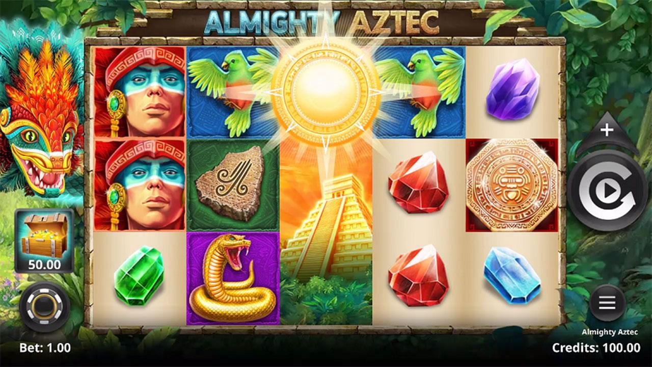 Play Almighty Aztec and Win £€$100