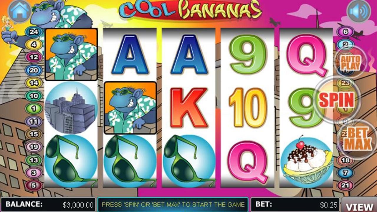 50 Free Spins on Cool Bananas at Miami Club Casino