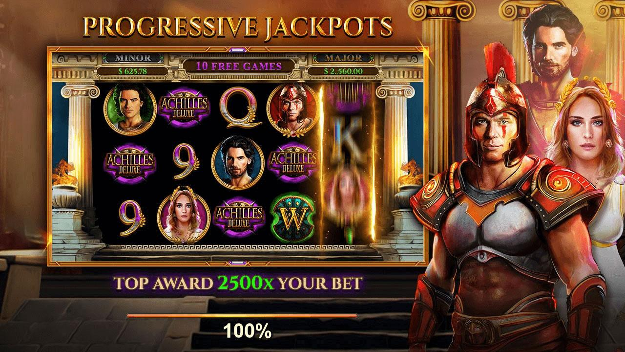50 Free Spins on Achilles Deluxe at Fair Go Casino