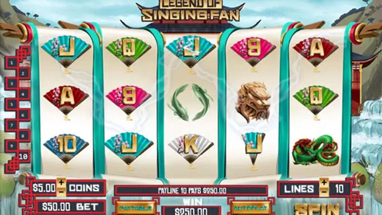 44 Free Spins on Legend of Singing Fan at Red Stag Casino