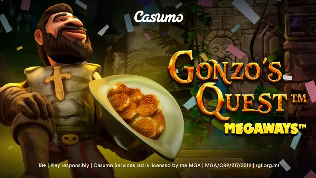 Casumo players think Gonzo's Quest Megaways is GOLD. And we know why!