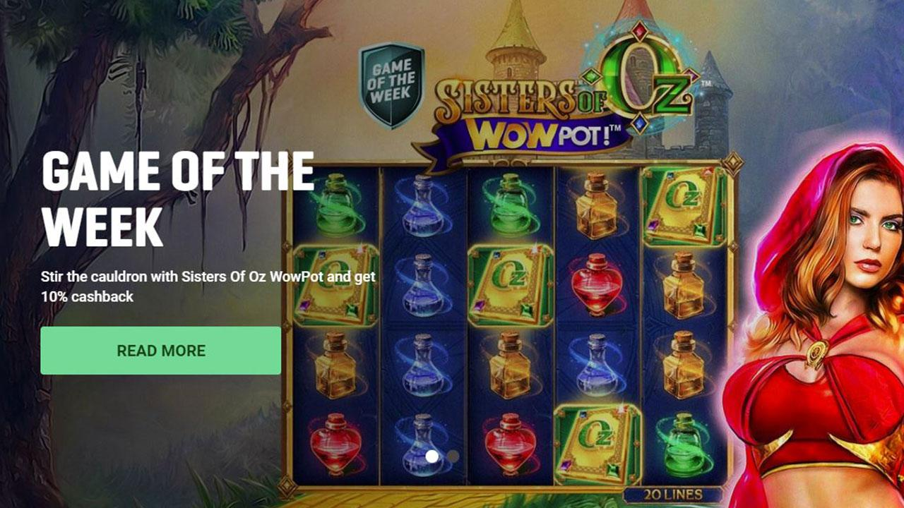 Stir the cauldron with Sisters Of Oz WowPot and get 10% cashback