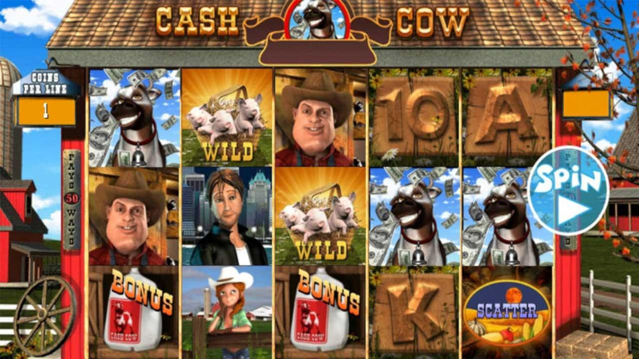 48 Free Spins on Cash Cow at Red Stag Casino