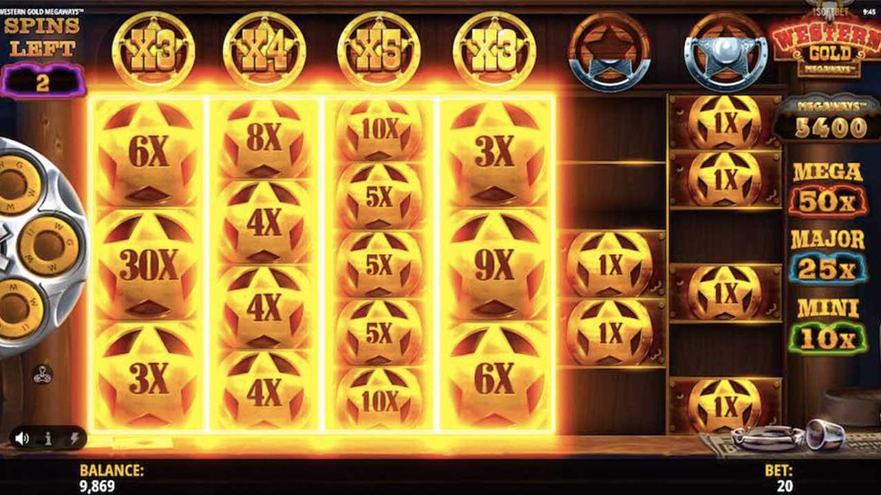 Play Western Gold this weekend and 10 lucky players will be chosen each day to receive £€$100