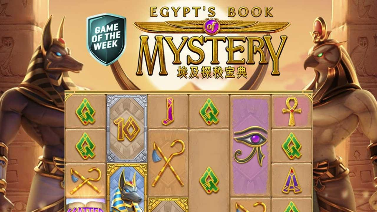 Game Of The Week: Egypt's Book Of Mystery at Guts Casino