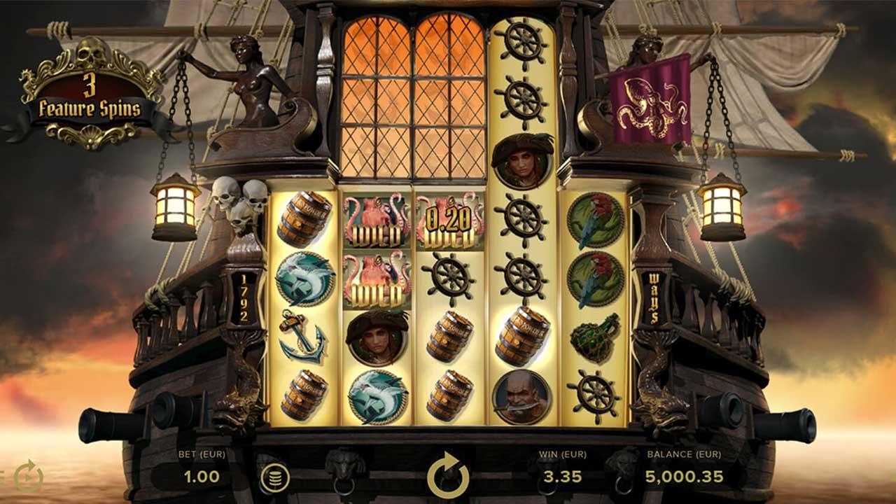 10 Free Spins on Rage of The Seas at Rizk Casino