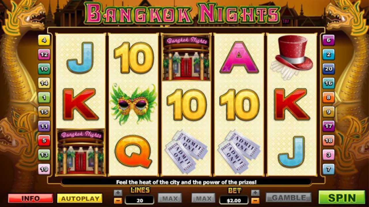 50 Free Spins on Bangkok Nights at Miami Club Casino