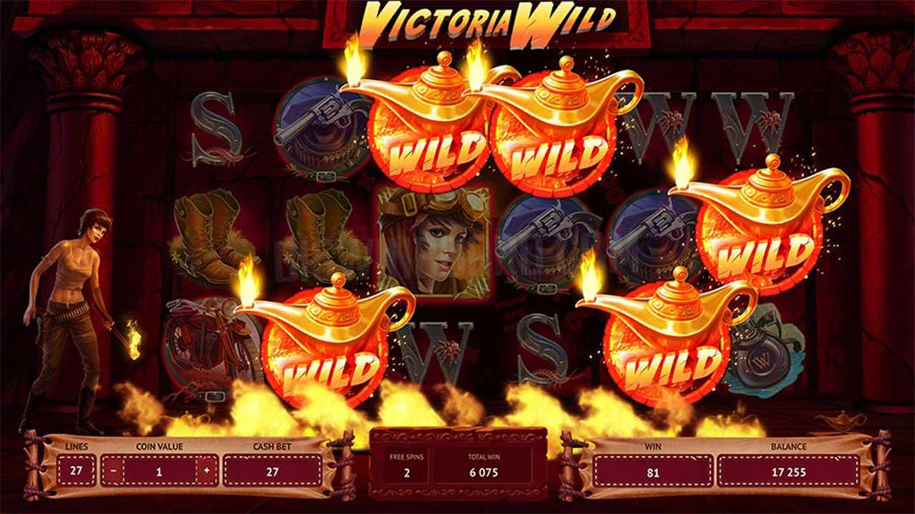 Exclusive access to Victoria Wild at Casino Room