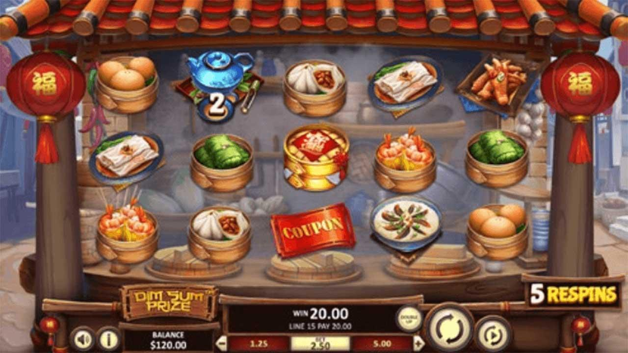 25 Free Spins on Dim Sum Prize at SpartanSlots Casino