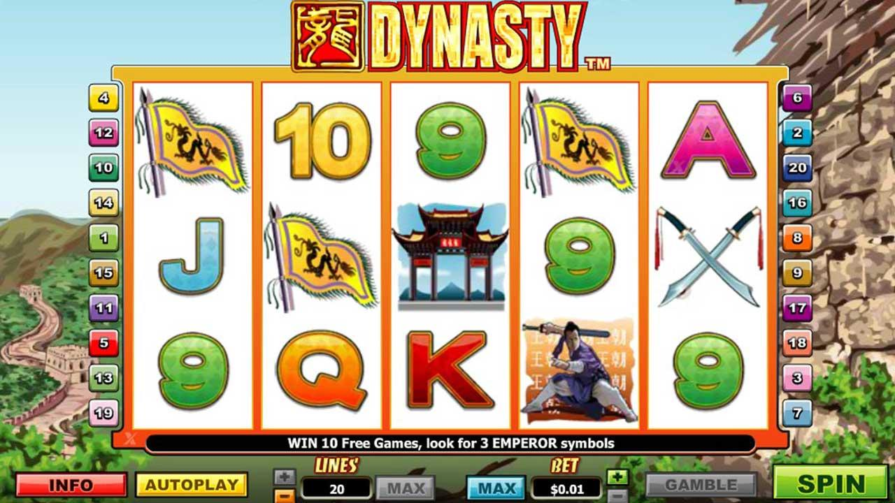 50 Free Spins on Dynasty at Miami Club Casino
